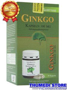 Ginkgo Kapseln 100mg – Tăng cường tuần hoàn não, cải thiện trí nhớ