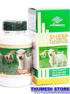 Sheep Placenta Concentrate – Xóa nếp nhăn cao cấp, làm đẹp da.