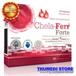 Chela Ferr Forte – Bổ sung sắt cho phụ nữ có thai và cho con bú.