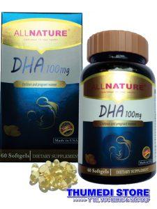 DHA 100mg – Bổ sung DHA cho trẻ em, người lớn, phụ nữ có thai.
