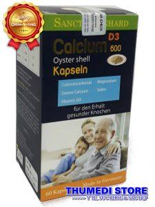 Calcium 600 D3 Oyster shell – Bổ sung canxi cho bà bầu, người cao tuổi, trẻ em thời kỳ phát triển