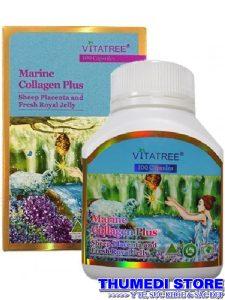 Marine Collagen Plus Vitatree- Viên uống giúp làm đẹp da
