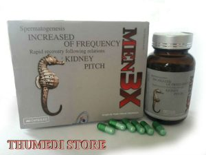 Men 3X – Hỗ trợ điều trị yếu sinh lý, kéo dài thời gian quan hệ và tăng chất lượng tinh trùng