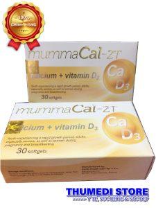 MummaCal-ZT – Bổ sung canxi và vitamin D3 cho phụ nữ thai kỳ