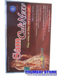 Sâm CaliNew – Tăng cường sức khỏe, sinh lý nam giới, điều trị xuất tinh sớm